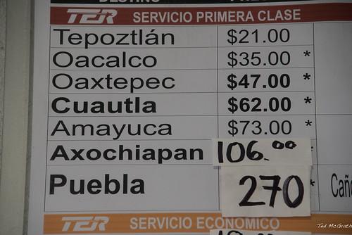 2016 - Mexico - Cuernavaca - Bus to Go