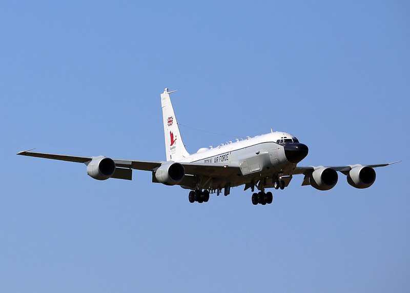 ZZ664 Boeing RC-135W Airseeker R1 Royal Air Force | 'Dragnet… | Flickr
