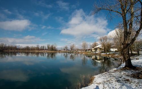 lakes lakezajarki landscapes winter wintermorning zaprešić hrvatska croatia nikond600 nikkor173528 snow vladoferencic vladimirferencic