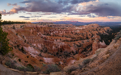 morning sunset sky clouds landscape utah us unitedstates valley bryce brycecanyon americanwest hoodoos sunsetpoint brycecanyonnationalpark summer2015