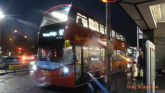 P1380756 WHV108 BT65 JGV at Morden Station London Road Morden London