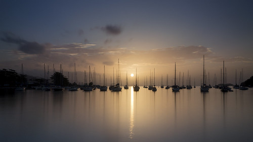 longexposure sea sky nature water marina sunrise landscape dawn harbor pier seaside harbour horizon wideangle caribbean seashore chaguaramas trinidadandtobago gulfofparia sigma1020mm1456exdchsm nikond5100 trinidadandtobagosailingassociation