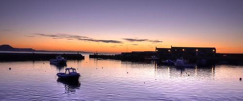 sunrise coast dorset lymeregis harbours thecobb smallboats