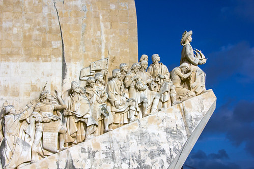 people sculpture art history portugal memorial europe lisboa lisbon ships places pt sailingship historicpeople transporttransportinfrastructure