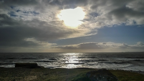 camera uk sunset sea sky sun water wales clouds nokia europe phone 925 ogmore ogmorebysea lumia cloudsstormssunsetssunrises andygocher