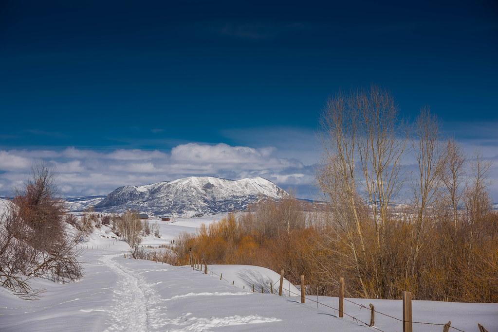 Near Steamboat Springs, Colorado - Path