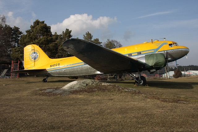 Addison Aviation Inc Douglas C-47B-35-DK Skytrain N41CQ Vallentuna 160329