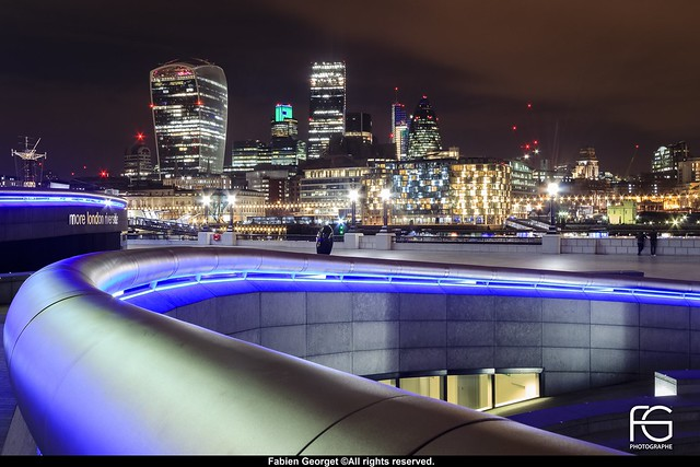 City hall by night