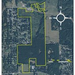 Baggett Land Sale Aerial Layout