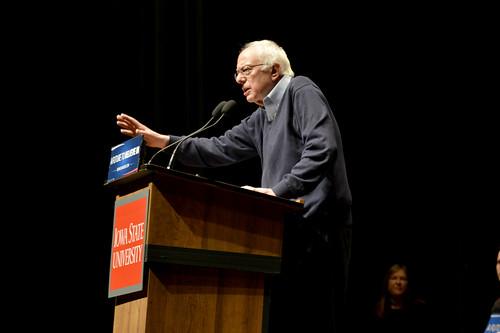 Bernie Sanders at ISU - 1/25/2016 | by aj.hanson1