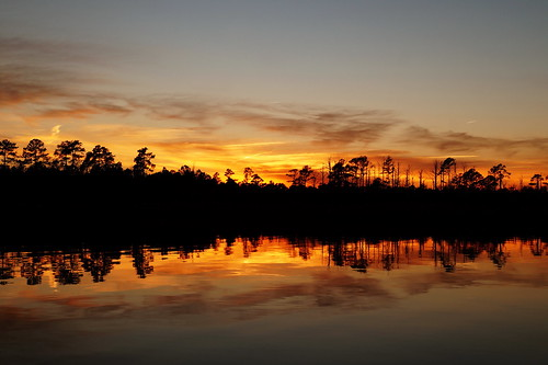sunset sky cloud water creek landscape nc dusk sony northcarolina serene fairfieldharbour northwestcreek sonya58