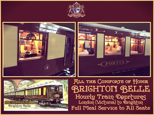 Brighton Belle Pullman Service