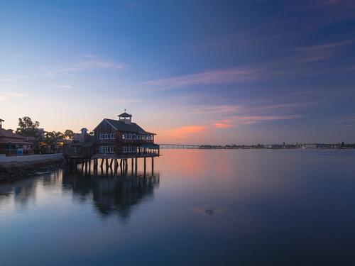dawn sandiego seaportvillage mornig 早晨 聖地牙哥 會議中心 conventionalcenter