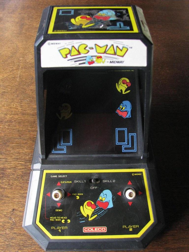 Surprising Coleco Pac Man Tabletop Vfd Electronic Game 1981 Flickr Download Free Architecture Designs Itiscsunscenecom