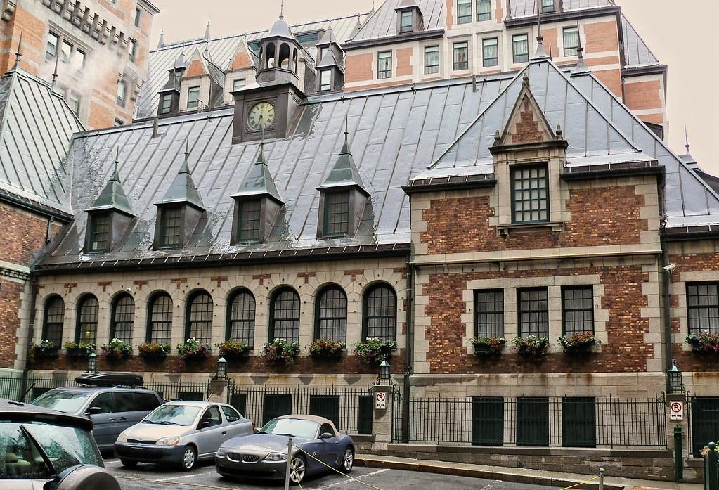 Cour intérieure Chateau  Frontenac