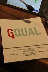 GQUAL Campaign Launch/Lanzamiento de la Campaña GQUAL