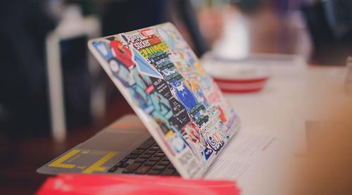 Laptop Stickers | by devsteve