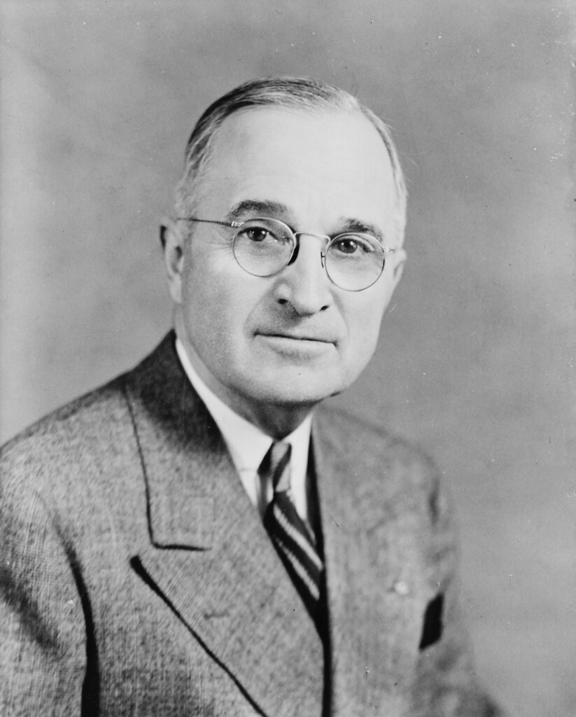 33 Harry S Truman | Harry S Truman by Edmonston Studio, June… | Flickr