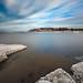 Frozen seaside