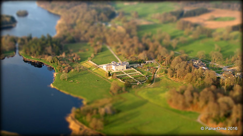 uk ireland house green water beautiful landscape scenery estate natural lakes northern baronscourt omagh