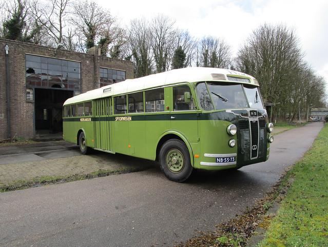 NS bus 1108 Zaandam Hembrug garage
