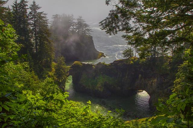 Natural Bridges, Oregon Coast