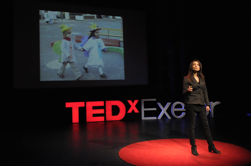 Deeyah Khan speaking live at TEDxExeter 2016