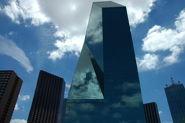 Reflections Fountain Place Dallas Texas