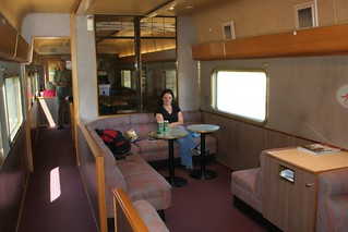 The lounge, Indian Pacific Train across Australia | by Rob & Jules