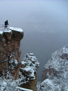 Snow - Grand Canyon