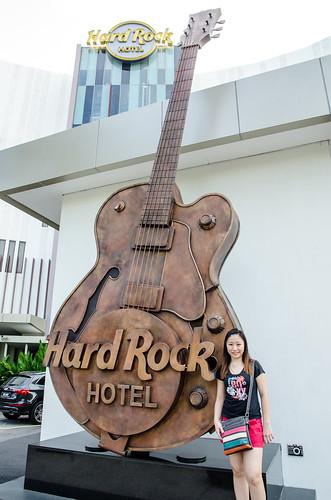 Guitar at Hard Rock Hotel Penang   by huislaw