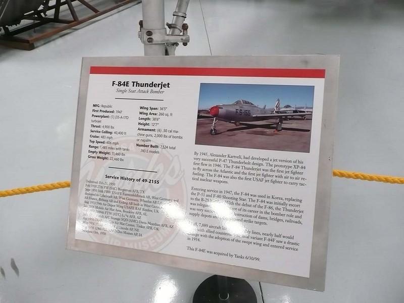 共和国的F-84Thunderjet3