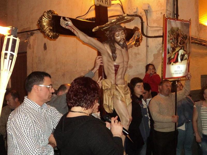 (2014-04-01) - V Vía Crucis nocturno -  Antonio Vázquez (10)