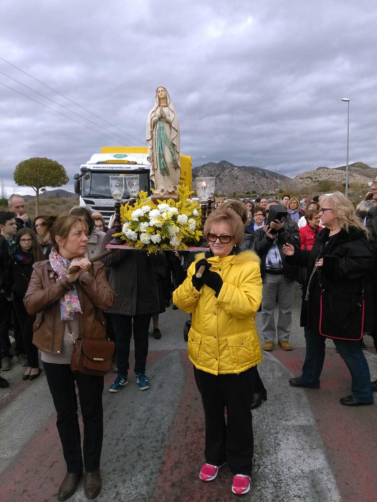 (2016-02-13) - Inauguración Virgen de Lourdes, La Molineta - Pascual Serrano (08)