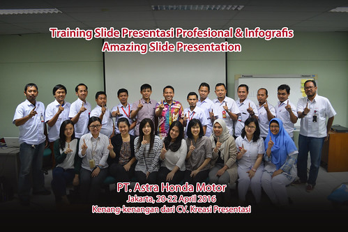 Training Slide & Infografis Amazing Slide Presentation bersama Dhony Firmansyah di PT AHM batch 11 | by dhonyfirmansyah