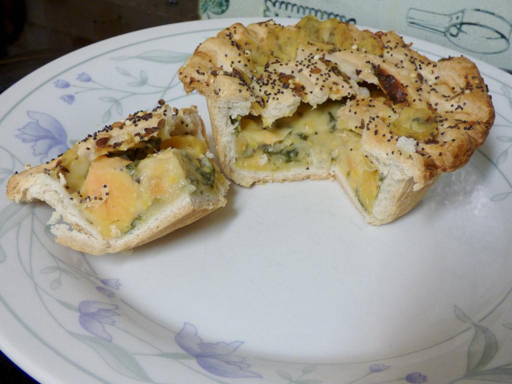 Tesco Sweet Potato And Goats Cheese Lattice Pie Milton Jan