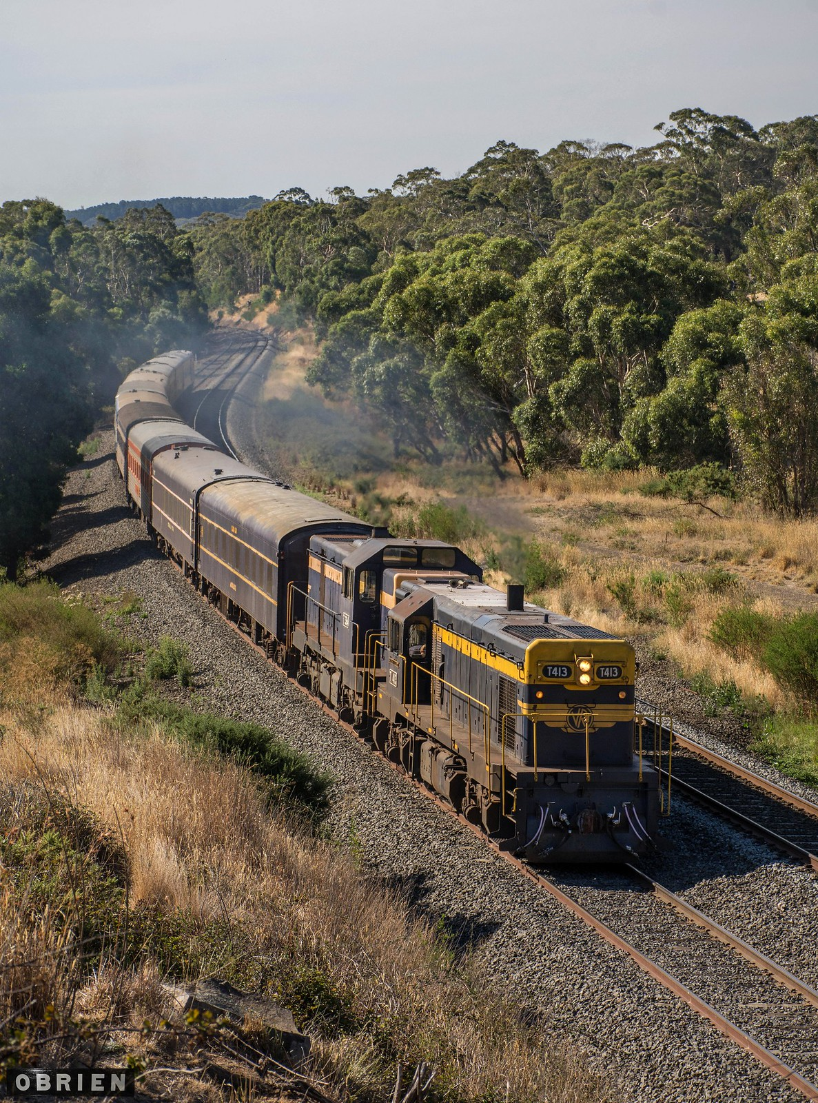 Melbourne Bound by Dave O'Brien