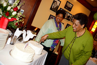 Myrlie Evers BirthdayParty2014-81yrs | by medgarandmyrlie