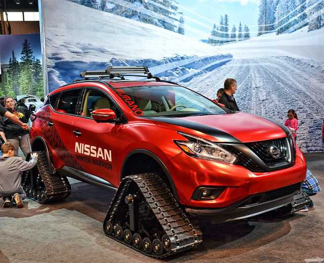 Nissan Murano Winter Warrior