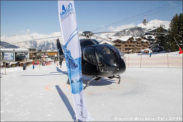 Salon Hélicoptère Courchevel 2016