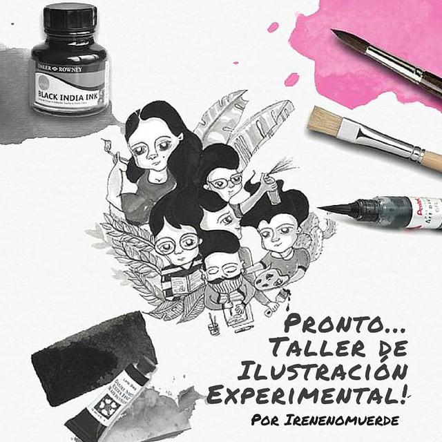 Taller de Ilustración experimental
