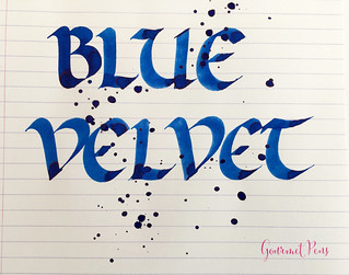 Ink Shot Review Diamine 150th Anniversary Blue Velvet @AppelboomL (4) | by GourmetPens