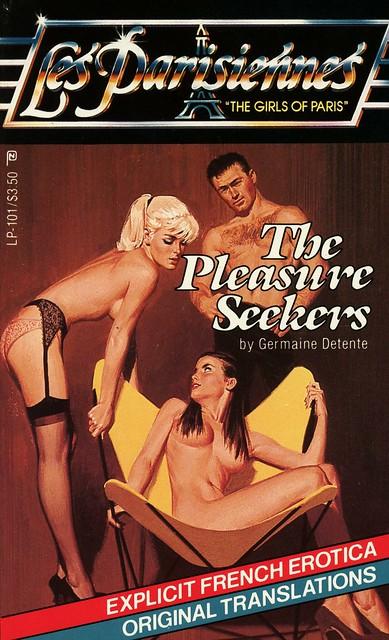 Les Parisiennes LP-101 - Germaine Detente - The Pleasure Seekers
