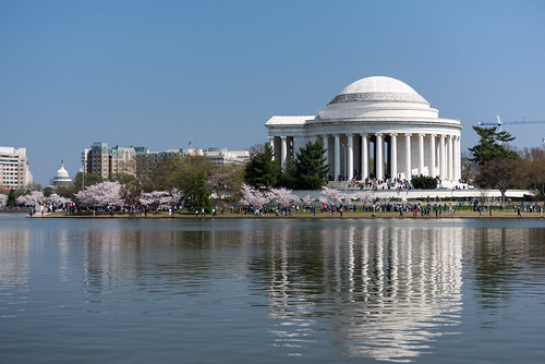 Jefferson Memorial and Capitol | by RLBolton