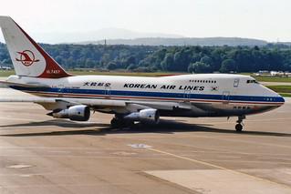 Korean Air Lines Boeing 747SP-B5 HL7457