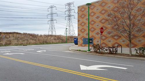 abstract architecture business contemporarylandscape deserted empty facade geometric landscape mall manalteredlandscape newyork quirky store streetscene urbanlandscape urban