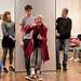 Hannah McPake, Dominic Marsh, Myra McFadyen, Iain Johnstone, John Pfumojena and Amanda Hadingue in rehearsals for I Am Thomas, Copperfield Rehearsal Rooms