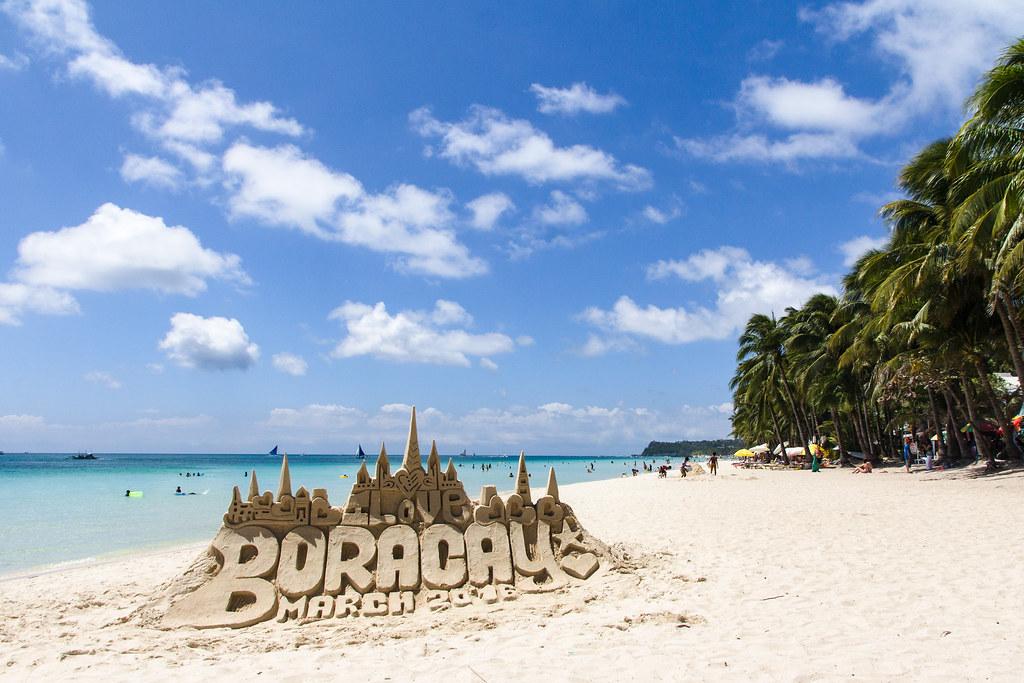 White Sand Beach Boracay Island Philippines Alexey Komarov Flickr