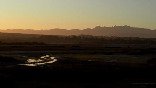 sunset newzealand mountains beautiful landscape outdoors evening view dusk peaceful nelson olympus calm estuary serenity vista southisland inlet serene em5 waimeainlet tasmandistrict microfourthirds duncancunningham ilobsterit duncanmc42 kahurangirange