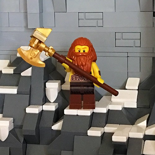 Drinlarr the Barbarian | by AK_Brickster